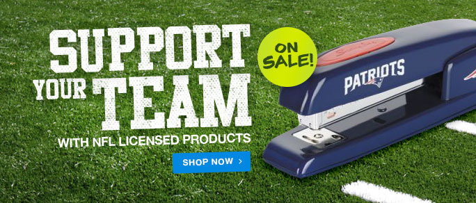 Support Your Team - NFL Clearance Priced