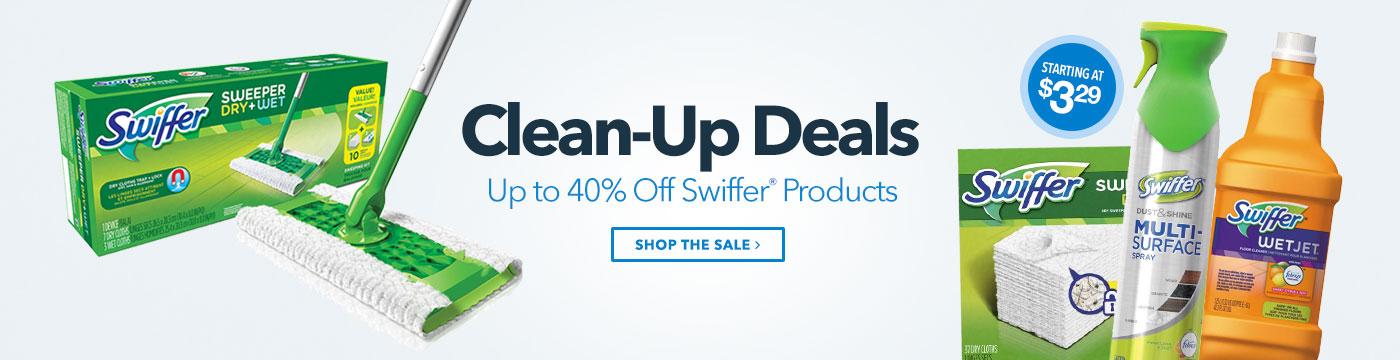 Clean-up Deals - Swiffer Sale