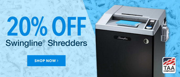 Swingline TAA Shredders