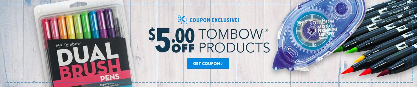 Tombow $5 Off $50+