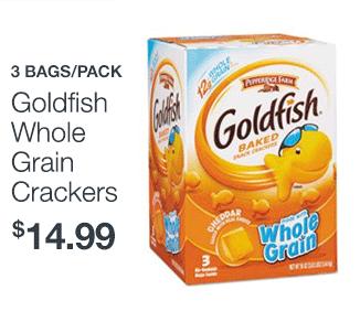 Goldfish Whole Grain Crackers