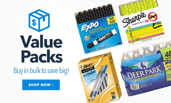 Value Packs Hero