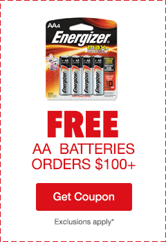 Free AA Batteries