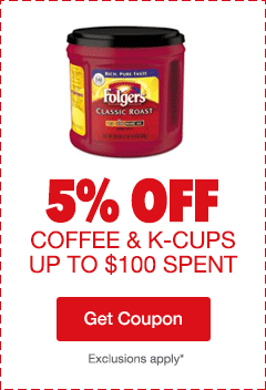 5% Off Coffee