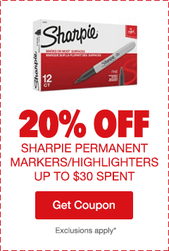 20% Off Sharpie