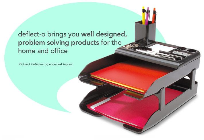 deflecto problem solving products