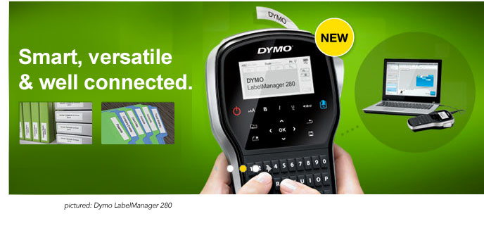 Dymo is smart, versatile and well connected