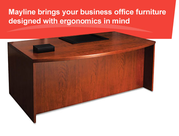 Mayline makes ergonomic business furniture