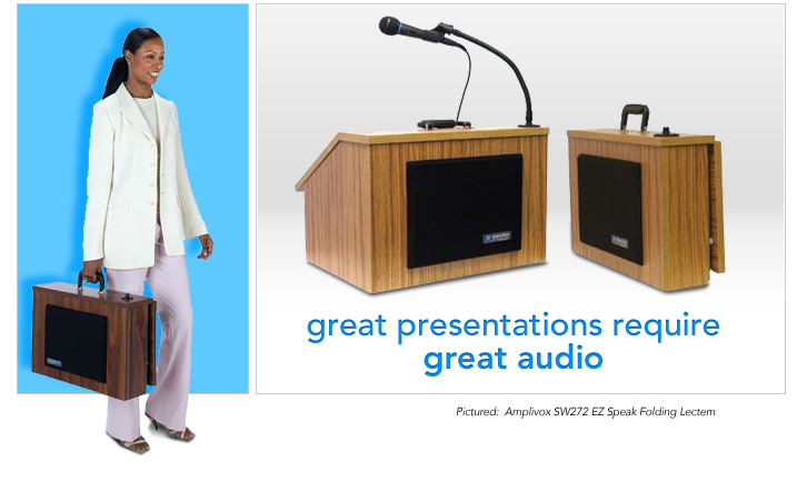 great presentations require great audio