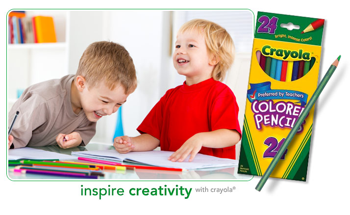 inspire creativity with crayola