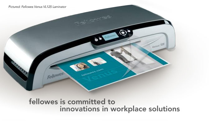 fellowes is committed to innovations in workplace solutions