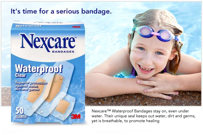 It's time for a serious bandage.