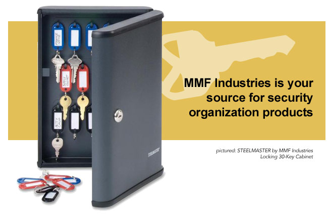MMF Industries is your source for security organization products