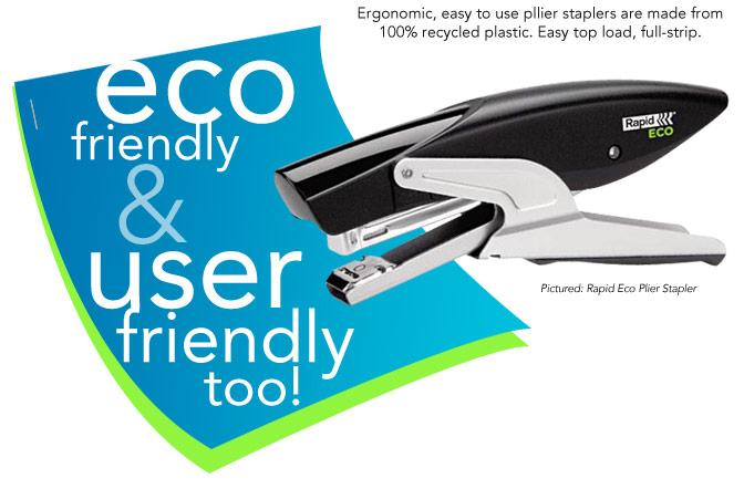 Rapid Eco Plier Stapler