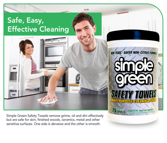 Simple Green products are effective and safe