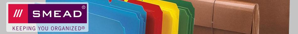 smead file folders and organization