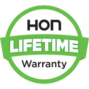 Hon Lifetime Warranty