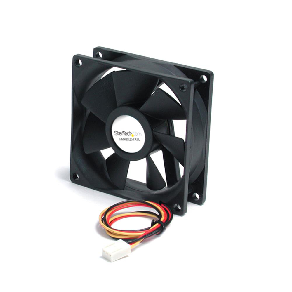 Get StarTech.com 80x25mm Ball Bearing Quiet Computer Case Fan w/ TX3 Connector Before Special Offer Ends