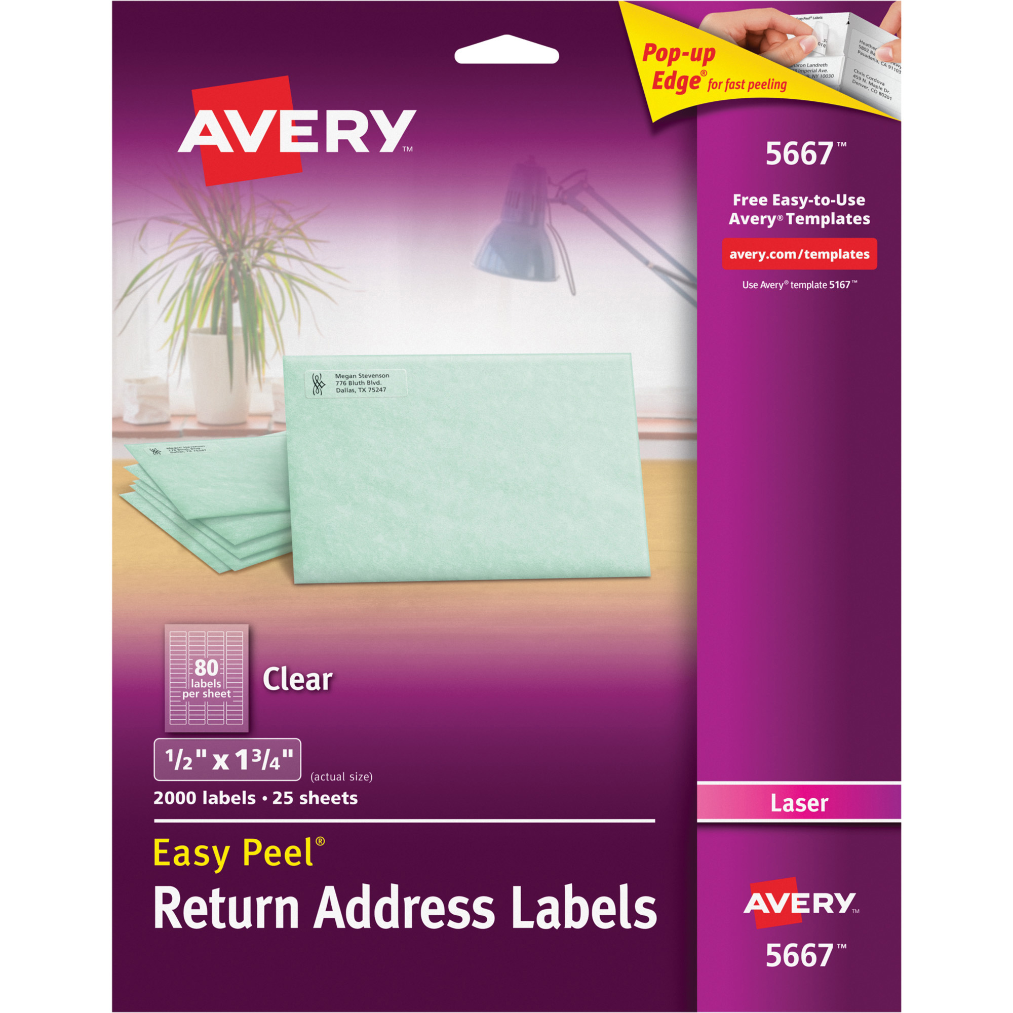avery 5667 label template
