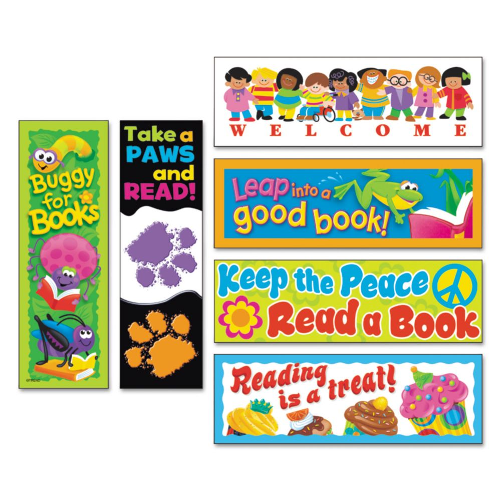 Trend Bookmark Combo Celebrate Reading Variety Pack #1, 216/pack