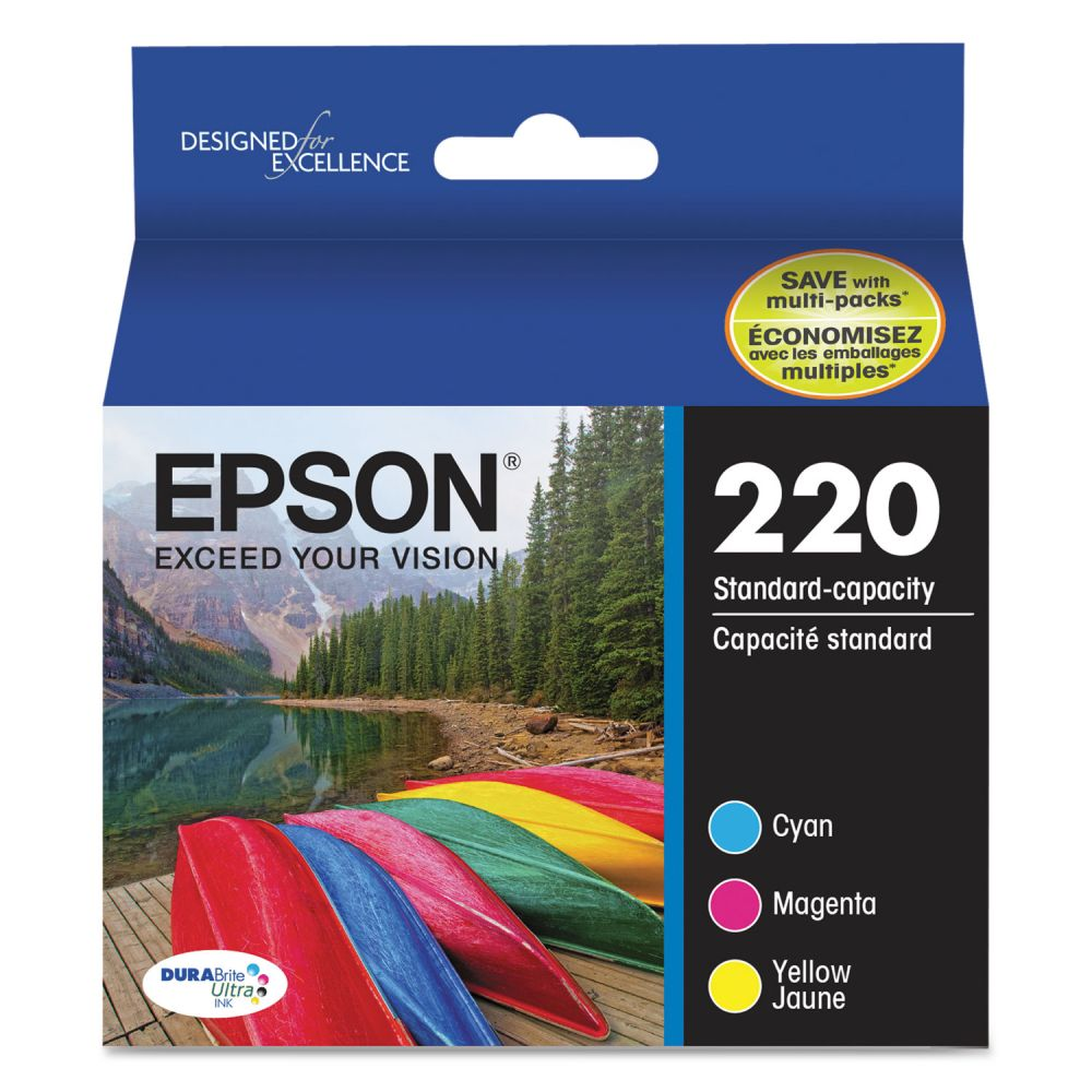 Epson 220 DURABrite Ultra Ink Cartridges (T220520)