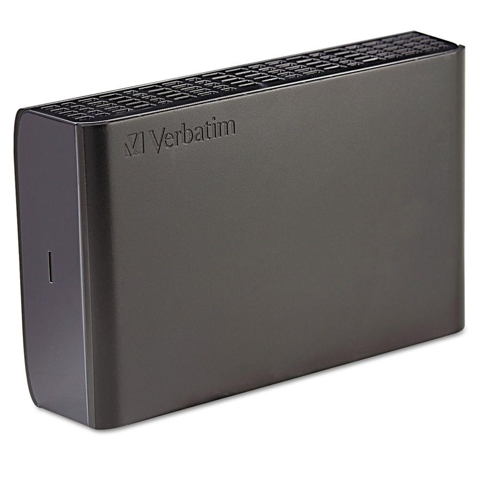 Verbatim Store N Save Desktop Hard Drive, USB 3.0, 1TB