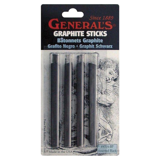 Compressed Graphite Sticks 4/Pkg