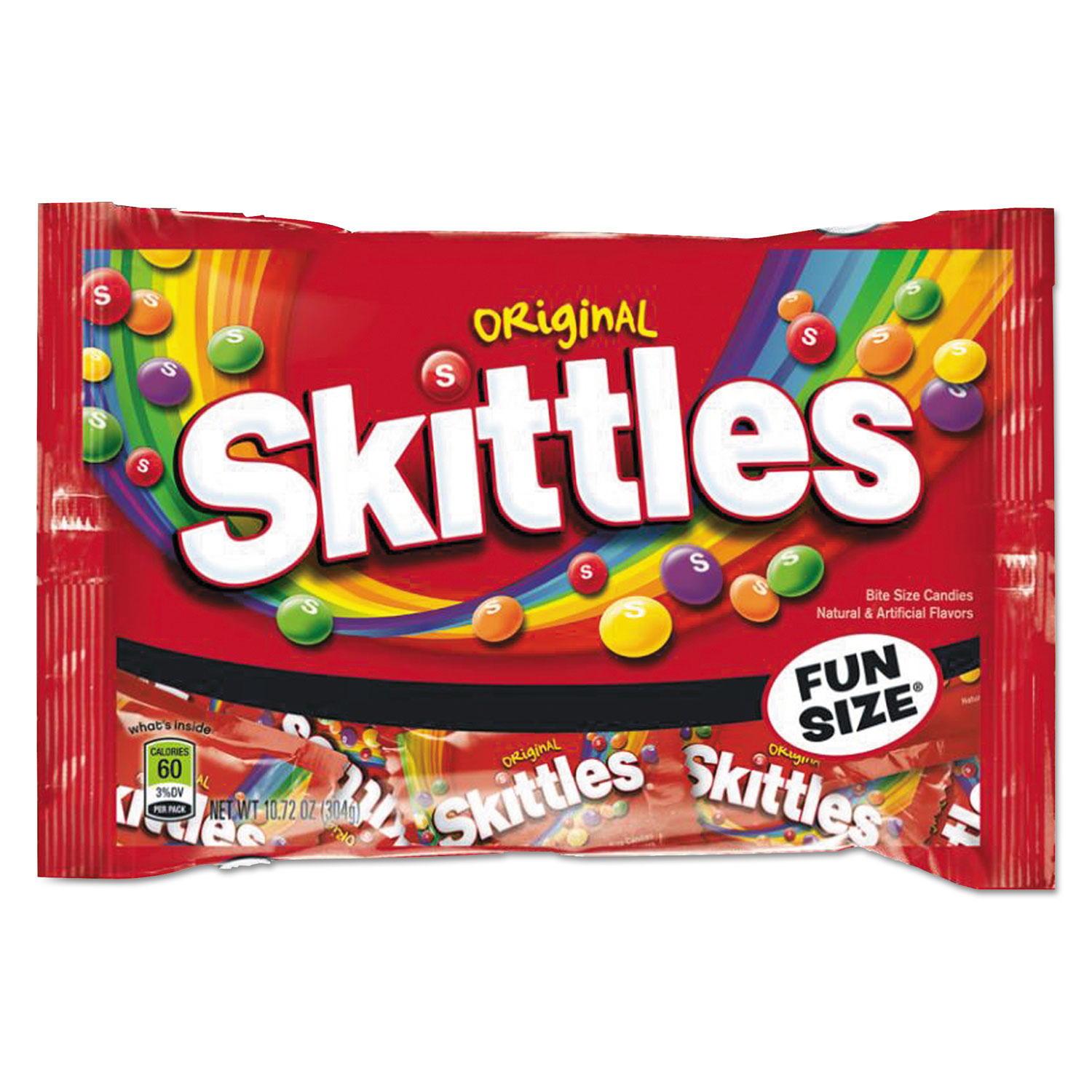 Skittles Chewy Candy, Original Skittle Flavor, 10.72 oz Bag
