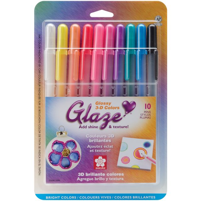 Gelly Roll Glaze Bold Point Pens
