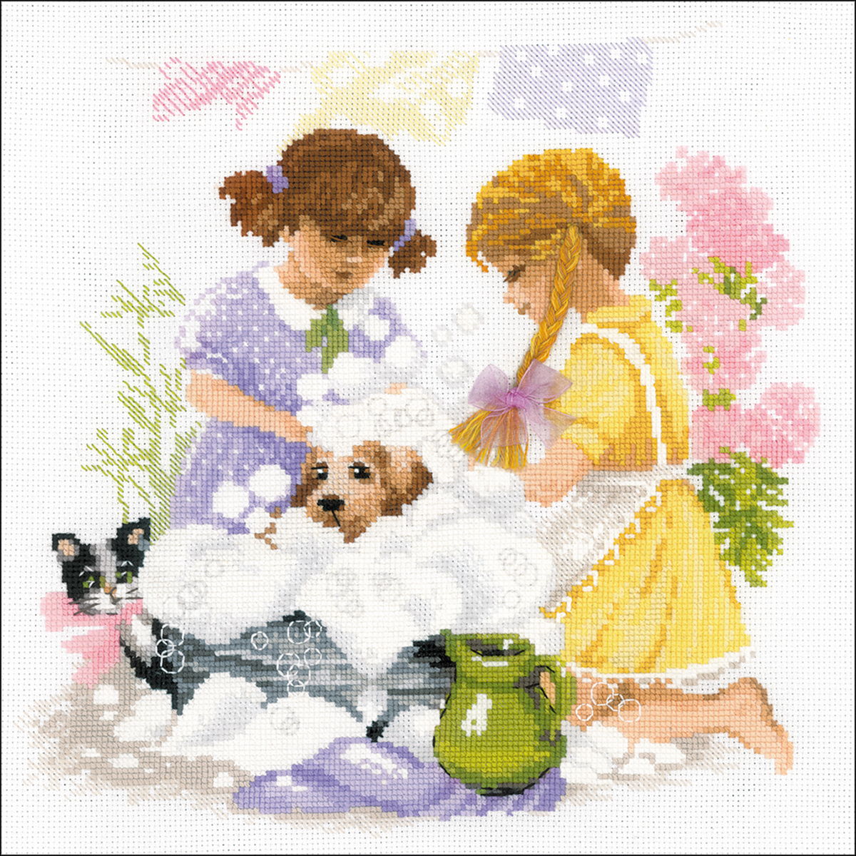Housewives Counted Cross Stitch Kit -  RIOLIS, R1646