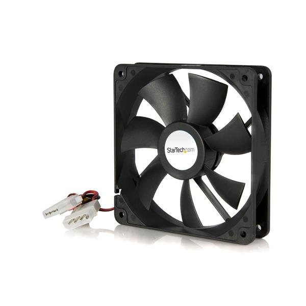 Review StarTech.com 120x25mm Dual Ball Bearing Computer Case Fan w/ LP4 Connector Before Special Offer Ends