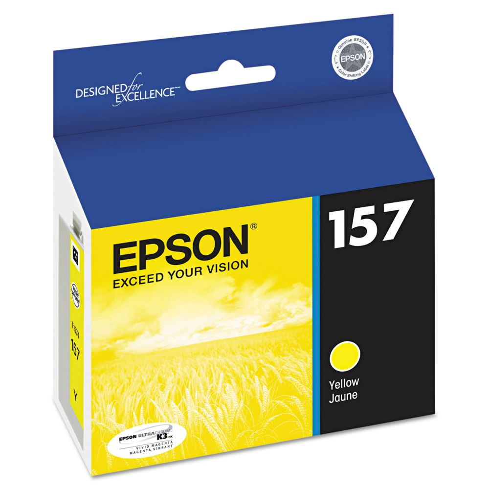 Epson 157 Yellow Ink Cartridge (T157420)