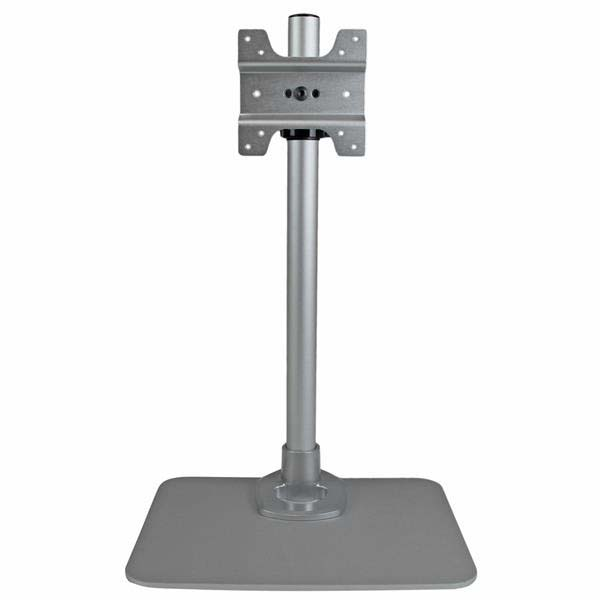 Deals StarTech.com Single Monitor Stand – Silver – Works with Apple iMac & Apple Cinema Display – Height Adjustable Monitor Mount Before Too Late