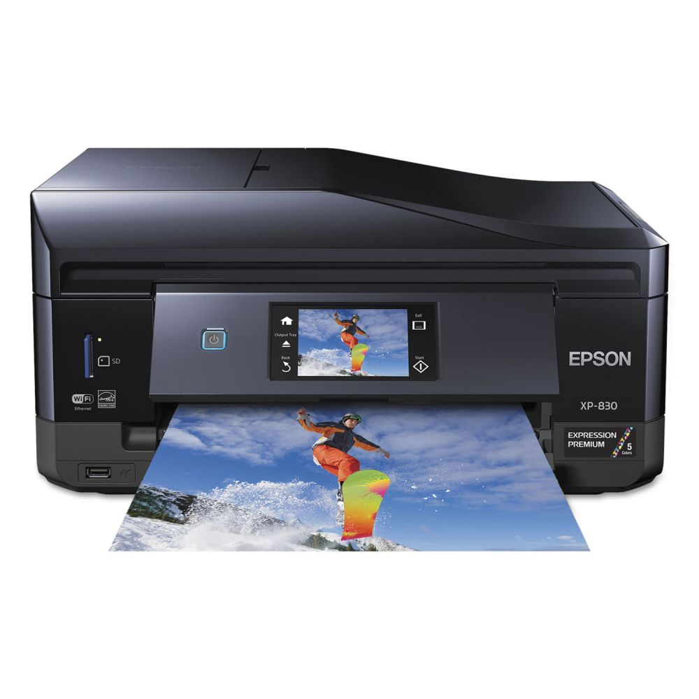 Epson Expression Premium XP-830 Wireless Small-in-One Printer, Copy/Print/Scan