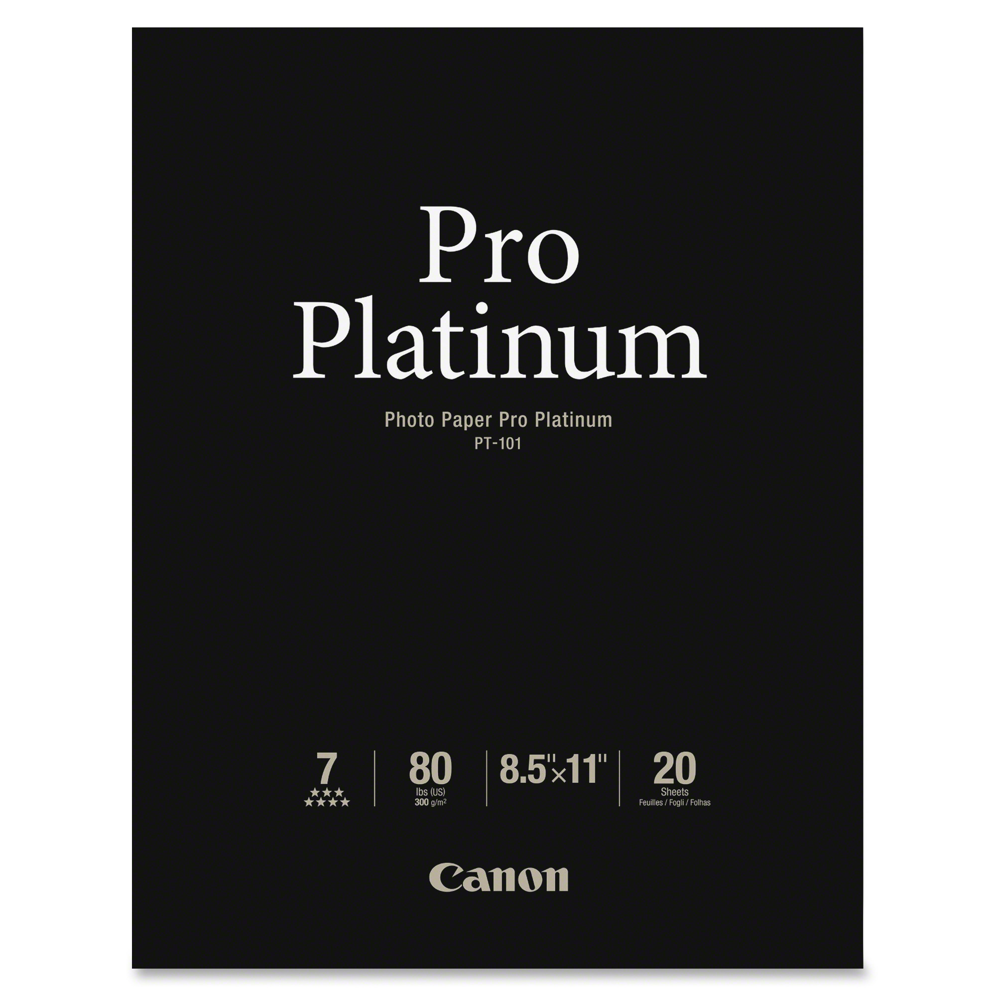 Canon Pro Platinum Glossy Photo Paper