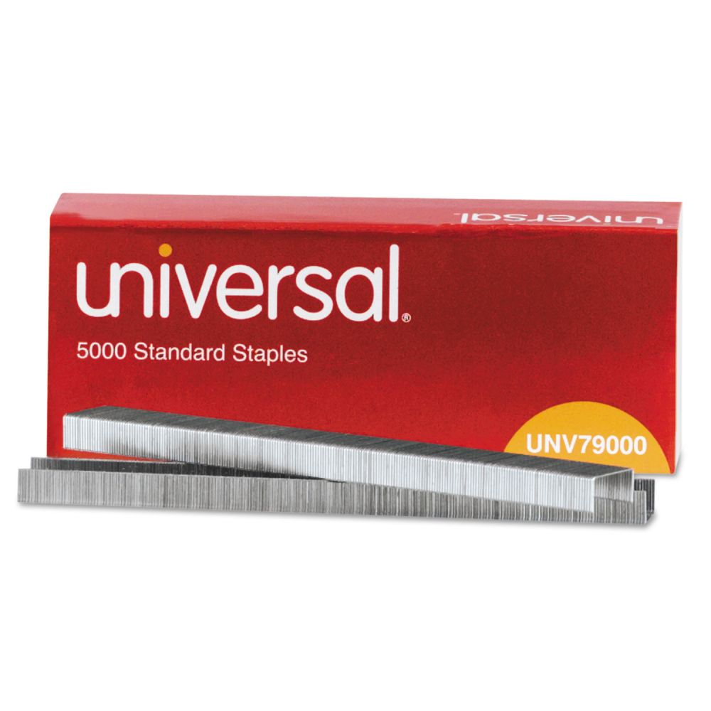 Universal Standard Chisel Point 210 Strip Count Staples 5000box