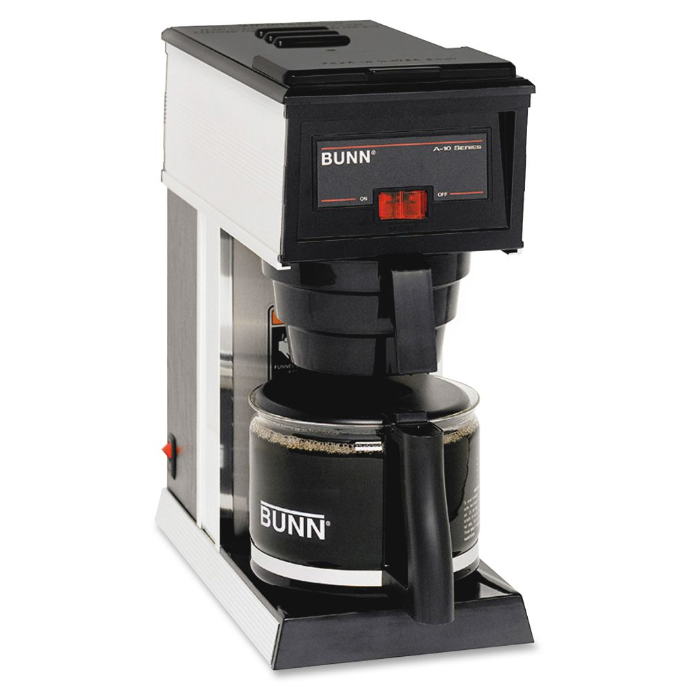 BUNN 10-cup Pourover Coffee Brewer - 10 Cup(s) - Black