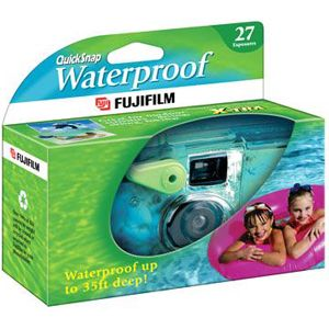 Fujifilm QuickSnap Waterproof 35mm Disposable Camera