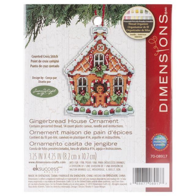 NOTM063769 - Susan Winget Gingerbread House Counted Cross Stitch Kit