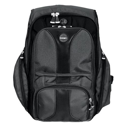 Kensington Contour Carrying Case (Backpack) for 17 Notebook - Black