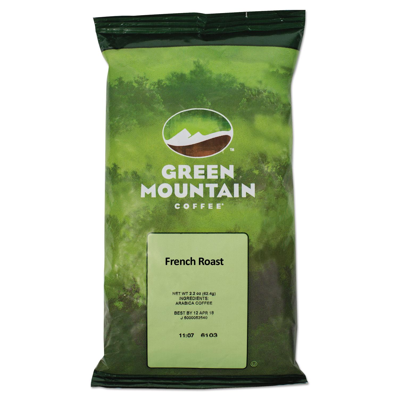 Green Mountain Coffee(R) French Roast Coffee, 2.2 Oz, Box Of 50