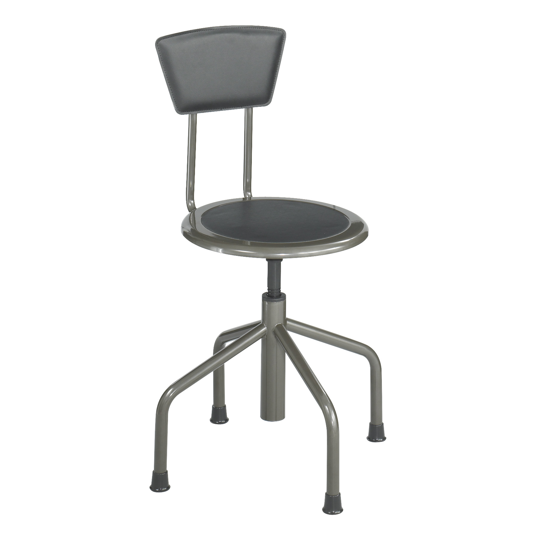 Surprising Safco Diesel Industrial Stool With Back Squirreltailoven Fun Painted Chair Ideas Images Squirreltailovenorg
