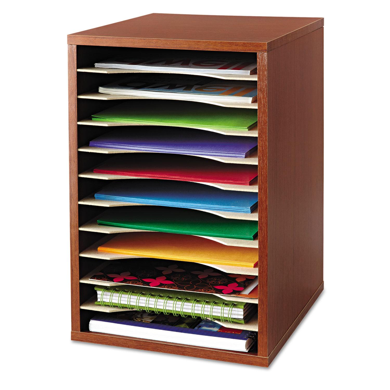 Safco Vertical Desktop Literature Organizer Saf9419cy Ebay