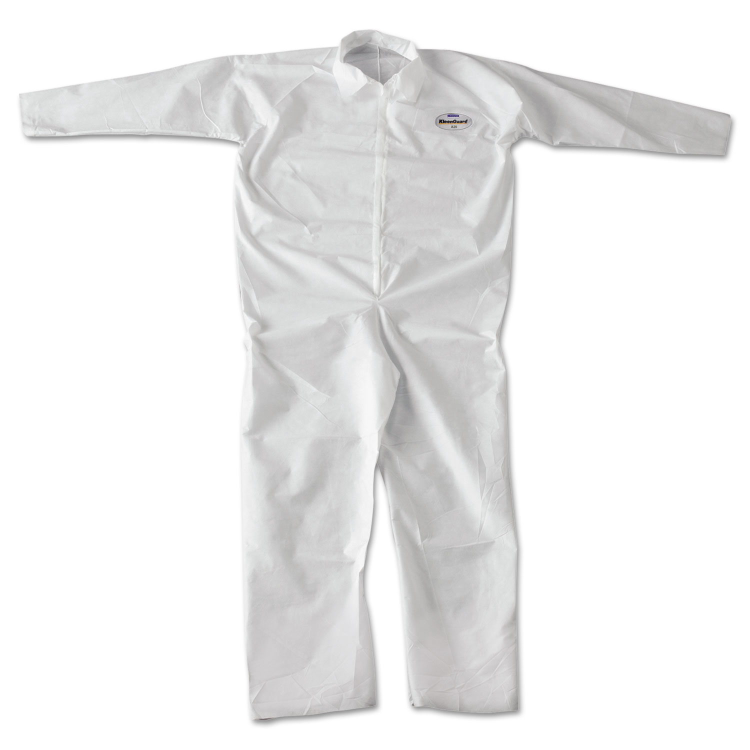 KLEENGUARD A20 Breathable Particle Protection Coveralls with Zip Closure