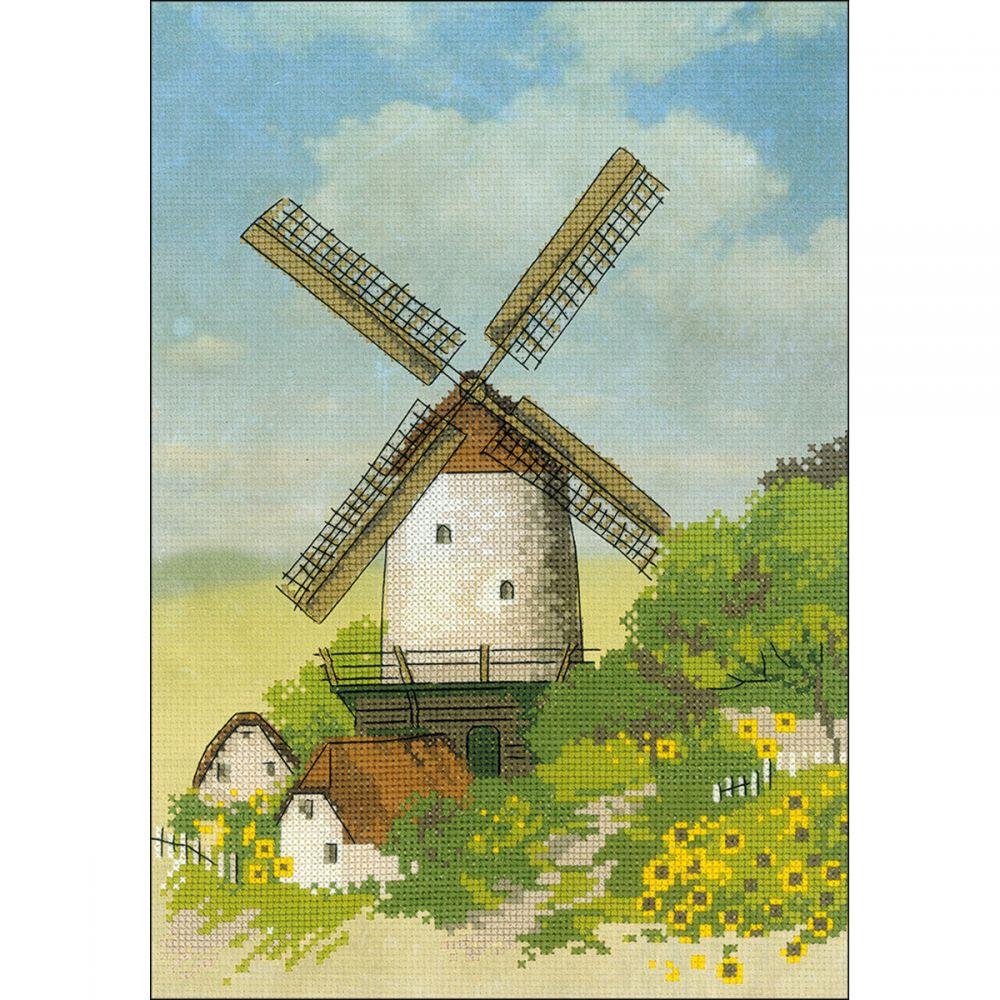 Riolis Windmill Counted Cross Stitch Kit -  R0045 PT