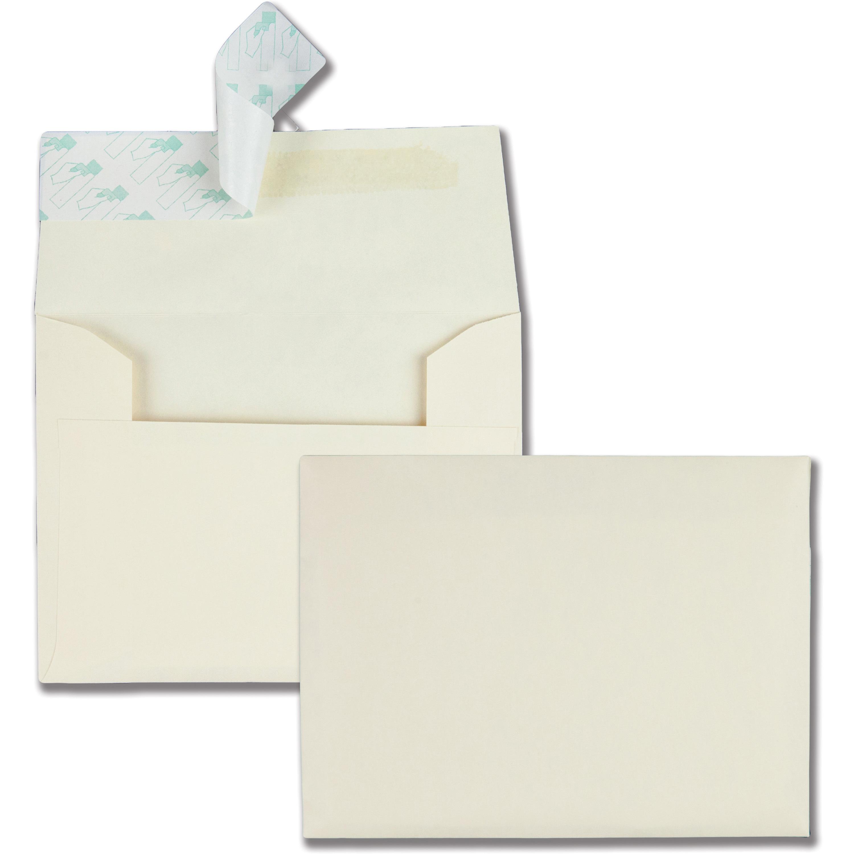 Quality Park Ivory Invitation Envelopes