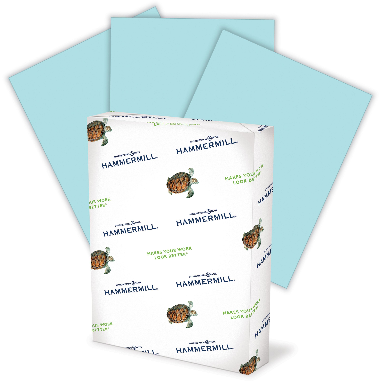 Box of 500 Blue Sparco Premium Grade Blue Copy Paper