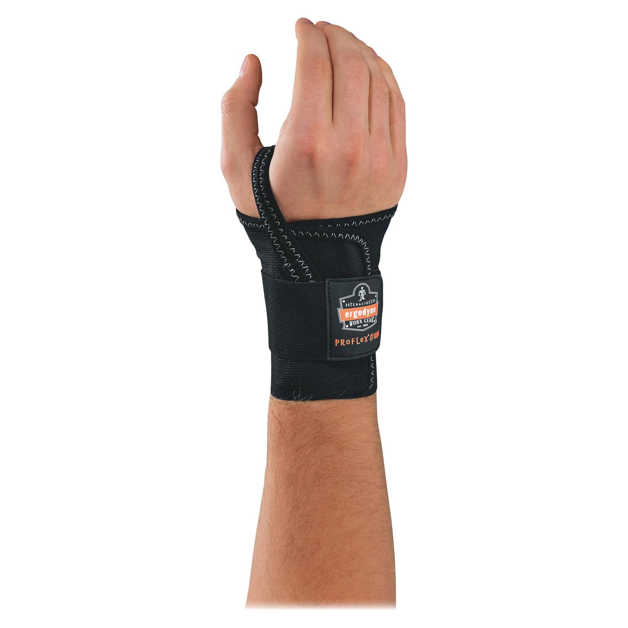 ergodyne ProFlex 4000 Wrist Support, Left-Hand, Large (7-8