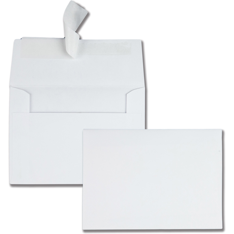 Quality Park White Invitation Envelopes