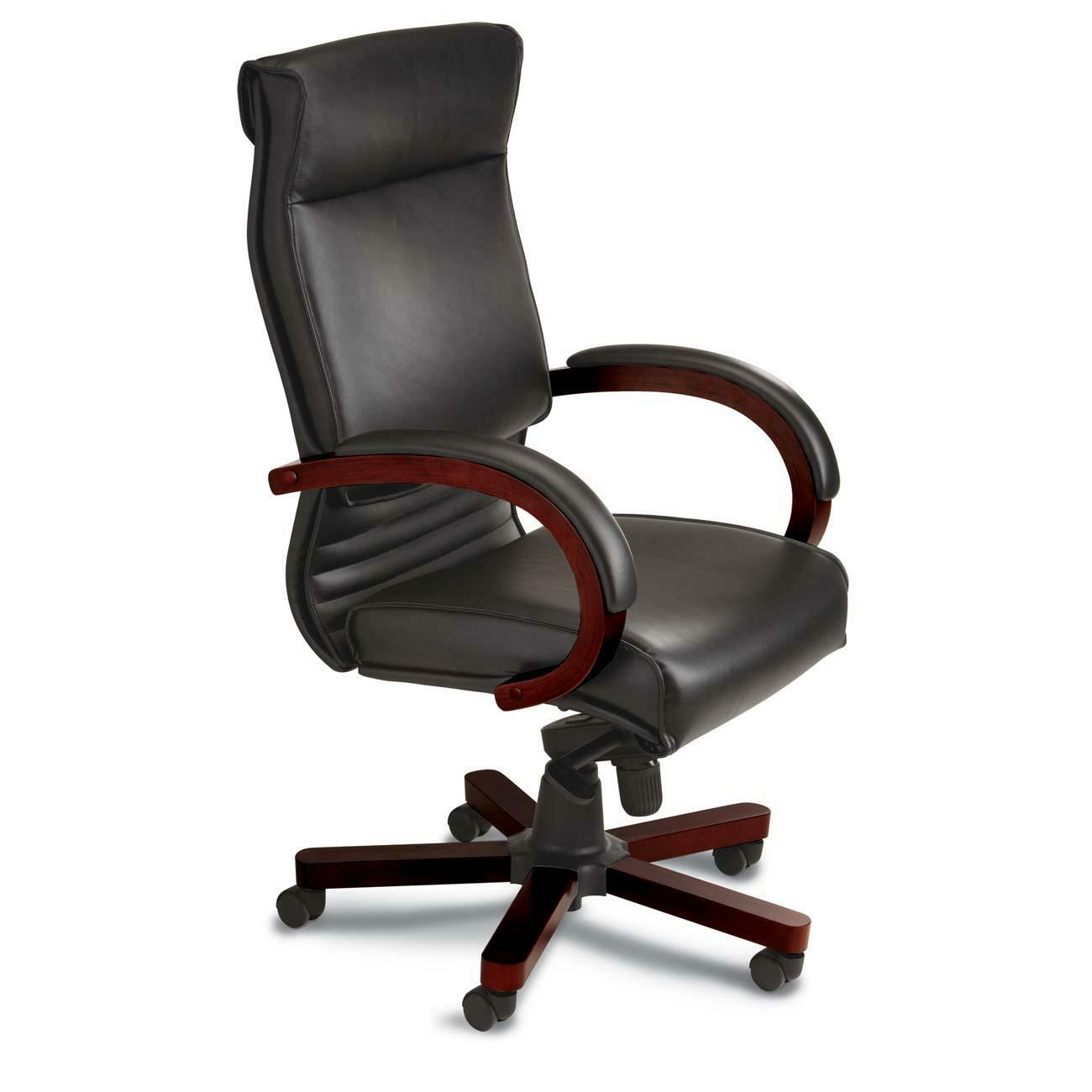 Tiffany Corsica High-back Leather Office Chair  OfficeSupply.com